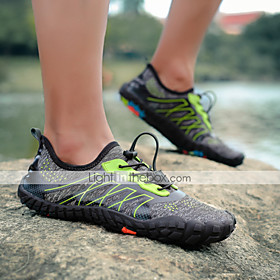 Men's Women's Water Shoes Slim Rubber Quick Dry Anti-Slip Non Slip Barefoot Swimming Diving Beach Aqua Sports - for Adults