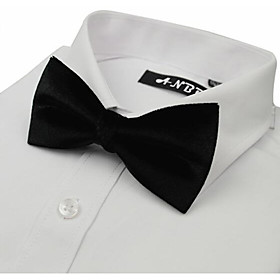 Men's Basic Bow Tie - Solid Colored