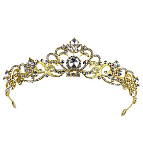 Headbands / tiaras / crown Hair Accessories Alloy Wigs Accessories Women's 1 pcs pcs 13cm(Approx5inch) cm School / Quinceañera  Sweet Sixteen / Festival Headpi