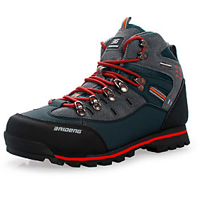 Men's Hiking Shoes Hiking Boots Waterproof Breathable Shock Absorption Non-Skid High-Top Non-slip Steel Buckle Outsole Pattern Design Hunting Fishing Hiking Au