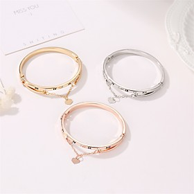 Men's Women's Bracelet Classic Wedding Birthday Vintage Theme European Trendy Casual / Sporty Ethnic French Alloy Bracelet Jewelry Rose Gold / Gold / Silver Fo