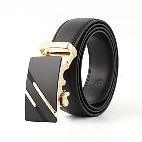 Men's Work / Active Skinny Belt - Solid Colored / Vintage