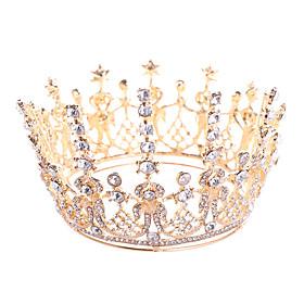 Headbands / tiaras / crown Hair Accessories Alloy Wigs Accessories Women's 1 pcs pcs 13cm(Approx5inch) cm School / Quinceañera  Sweet Sixteen / Festival Headpi