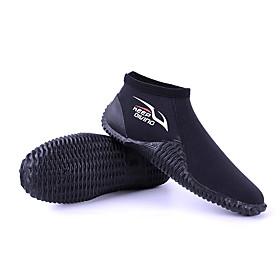 KEEPDIVING Men's Women's Neoprene Boots Sporty Neoprene Anti-Slip Barefoot Boating Water Sports Aqua Sports - for Adults