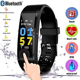 Men's Digital Watch Digital Casual Water Resistant / Waterproof Digital Black Red Blue / One Year / Rubber / Stopwatch / Large Dial