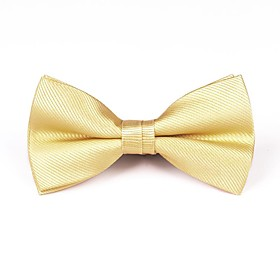 Men's Party / Work / Basic Bow Tie - Solid Colored / Print / Jacquard