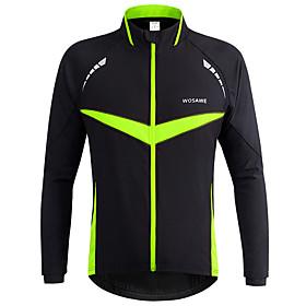 WOSAWE Men's Women's Cycling Jacket Bike Jacket Winter Jacket Top Windproof Reflective...