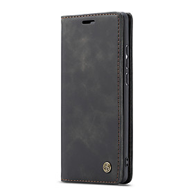 CaseMe Case for Samsung Galaxy A10S/ Galaxy A20S / Galaxy A40S / Galaxy A70S Retro Solid Colored Magnetic Flip Wallet Phone Cases Hard Cov
