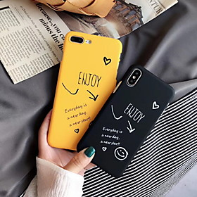 Phone Case For Apple Back Cover iPhone XR iPhone XS Max iPhone X iPhone 8 Plus iPhone 8 iPhone 7 Plus iPhone 7 iPhone 6s Plus iPhone 6s iPhone 6 Plus Frosted P What's in the box:Case1; Type:Back Cover; Material:Plastic; Compatibility:Apple; Pattern:Word / Phrase; Hard / Soft:Hard; Features:Pattern,Frosted; Customization:iPhone XS Max,iPhone 6; Listing Date:06/14/2019; Phone/Tablet Compatible Model:iPhone 8 Plus,iPhone SE 2020,iPhone 8,iPhone XS Max,iPhone XR,iPhone 6,iPhone 6 Plus,iPhone 6s,iPhone 6s Plus,iPhone 7,iPhone 7 Plus,iPhone X