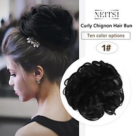 Headpiece / Hair Accessory / chignons Casual / Daily / Loose Curl Hair Bun Women / Synthetic / Adorable Synthetic Hair Hair Piece Hair Extension Casual / Daily