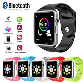Men's Sport Watch Digital Modern Style Sporty Outdoor Bluetooth Digital Black / Silver White Black / Silicone / Calendar / date / day / LCD / Tachymeter