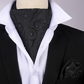 Men's / Boys' Party / Work / Basic Cravat  Ascot - Striped / Print
