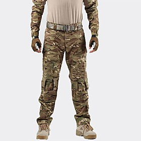 Men's Hunting Pants Outdoor Waterproof Breathable Wear Resistance Spring Fall Winter Pants / Trousers Hunting Leisure Sports Military / Tactical
