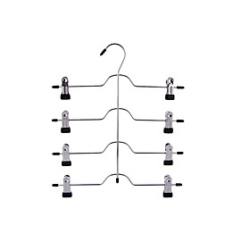 Stainless Steel Multilayer Pants Hanger, 1pc Quantity:1pc; Type:Pants; Material:Stainless Steel; Features:Multilayer; Net Weight:0.27; Listing Date:07/11/2019; Production mode:External procurement; Popular Country:Ireland