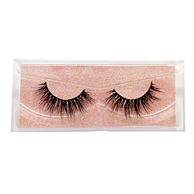 Eyelash Extensions 2 pcs Simple Women Ultra Light (UL) Comfortable Casual Convenient Plastic Daily Wear Vacation Full Strip Lashes - Makeup Daily Makeup Fashio