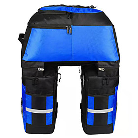 FJQXZ 70 L Bike Panniers Bag Bike Rack Bag 3 In 1 Adjustable Large Capacity Bike Bag 1680D Polyester Bicycle Bag Cycle Bag Cycling / Bike / Waterproo