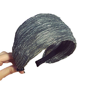 Decorations Hair Accessories Other Material Wigs Accessories Women's 1 pcs pcs cm Dailywear / Casual Portable / Headpieces Easy to Carry / Stretchy / Ultra Lig