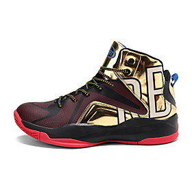 Men's Comfort Shoes PU Spring  Summer Sporty / Preppy Basketball Shoes Basketball Shoes / Walking Shoes Breathable Color Block Gold / Rainbow / Slogan Category:Basketball Shoes; Upper Materials:PU; Season:Spring  Summer; Gender:Men's; Activity:Basketball Shoes,Walking Shoes; Toe Shape:Round Toe; Style:Preppy,Sporty; Outsole Materials:Rubber; Occasion:Outdoor,Daily; Closure Type:Lace-up; Function:Non-slipping,Breathable,Shock Absorbing; Pattern:Slogan,Color Block; Shipping Weight:0.85; Listing Date:11/05/2019; 2020 Trends:Comfort Shoes; Foot Length:; Size chart date source:Provided by Supplier.