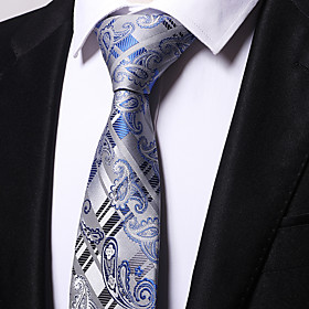 Men's Party / Work Necktie - Striped / Jacquard