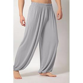 Men's Basic Slim Chinos Pants Solid Colored White Black Light gray US38 / UK38 / EU46 US40 / UK40 / EU48