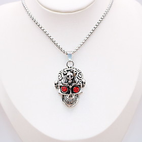 Men's Women's Pendant Necklace Statement Necklace Necklace Classic Mini Dainty Unique Design Classic Punk Silver Plated Chrome Silver 70 cm Necklace Jewelry 1p