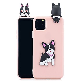 Case For Apple iPhone 11 / iPhone 11 Pro / iPhone 11 Pro Max Pattern Back Cover 3D Cartoon TPU What's in the box:Case1; Type:Back Cover; Material:TPU; Compatibility:Apple; Pattern:3D Cartoon; Features:Pattern; Net Weight:0.019; Listing Date:09/30/2019; Phone/Tablet Compatible Model:iPhone SE(2020),iPhone 6s Plus,iPhone 11 Pro Max,iPhone 7,iPhone 11 Pro,iPhone 7 Plus,iPhone 11,iPhone X,iPhone XS Max,iPhone 8 Plus,iPhone XR,iPhone 8,iPhone XS,iPhone SE / 5s,iPhone 5,iPhone 6,iPhone 6 Plus,iPhone 6s
