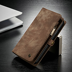 CaseMe Case For Apple iPhone 11 / iPhone 11 Pro / iPhone 11 Pro Max Multifunction Magnetic Flip Wallet Phone Case Retro Leather Phone Cases with Card