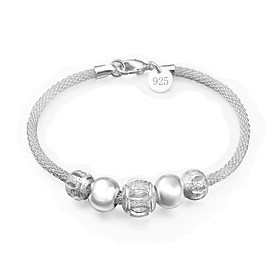 Women's Bracelet Classic Star Fashion Silver-Plated Bracelet Jewelry Silver For Daily