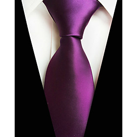 Men's Party / Work / Active Necktie - Solid Colored