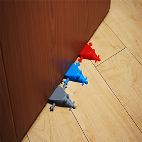 1Pc Baby Safe Doorways Silicone Mouse Shape Home Improvement Door Stop Hardware Christmas Gift Creative Door Stoppers Quantity:1pc; Type:Clothing; Material:Plastic; Features:Portable; Net Dimensions:10.02.01.0; Net Weight:0.02; Listing Date:10/29/2019