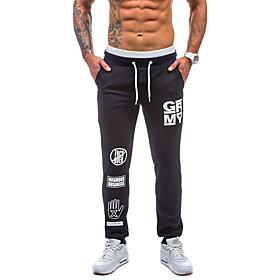 Men's Basic wfh Sweatpants Pants - Multi Color Black Navy Blue US40 / UK40 / EU48 US42 / UK42 / EU50 US44 / UK44 / EU52