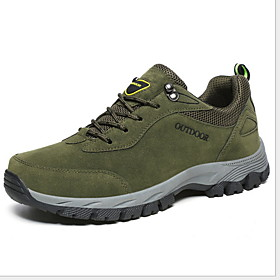 Men's Comfort Shoes PU Fall  Winter Sporty Athletic Shoes Hiking Shoes Non-slipping Brown / Green / Gray Category:Trainers / Athletic Shoes; Upper Materials:PU; Season:Fall  Winter; Gender:Men's; Activity:Hiking Shoes; Style:Sporty; Occasion:Outdoor; Closure Type:Lace-up; Function:Non-slipping; Pattern:Solid Colored; Shipping Weight:0.988947; Listing Date:10/11/2019; 2020 Trends:Comfort Shoes; Foot Length:; Size chart date source:Provided by Supplier.; Special selected products:COD