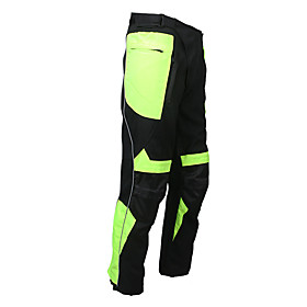 Men's Cycling Pants Bike Pants / Trousers Top Breathable Moisture Wicking Reflective Strips Sports Lycra Winter Black / Green Mountain Bike MTB Road Bike Cycli