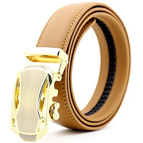 Men's Basic Waist Belt - Solid Colored
