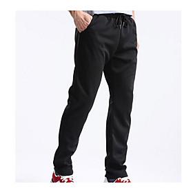 Men's Joggers Jogger Pants Track Pants Corduroy Pants Athleisure Pants / Trousers Sweatpants Athleisure Wear Beam Foot Fleece Corduroy Fitness Running Breathab