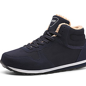 Men's Comfort Shoes Winter Daily Trainers / Athletic Shoes Running Shoes Cowhide Black / Blue Category:Trainers / Athletic Shoes; Upper Materials:Cowhide; Season:Winter; Gender:Men's; Activity:Running Shoes; Occasion:Daily; Shipping Weight:0.515; Listing Date:11/05/2019; 2020 Trends:Comfort Shoes; Foot Length:; Size chart date source:Provided by Supplier.