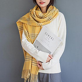 Women's Active / Cute Rectangle Scarf - Striped