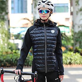 Mountainpeak Women's Cycling Jersey Cycling Jacket Winter Fleece Spandex Polyester Bike Winter...