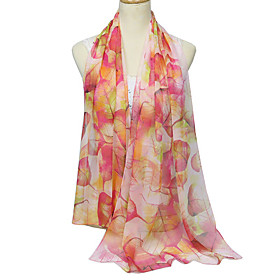Women's Party / Basic Rectangle Scarf - Color Block