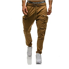 Men's Joggers Jogger Pants Track Pants Pants / Trousers Sweatpants Athleisure Wear with Phone Pocket Drawstring Cotton Gym Workout Lightweight Quick Dry Sport