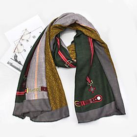 Women's Active / Cute Rectangle Scarf - Print