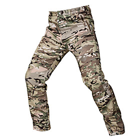 Men's Camouflage Hunting Pants Windproof Sunscreen Wearproof Comfortable Spring Summer Fall Camo / Camouflage for Camouflage S M L XL XXL / Winter
