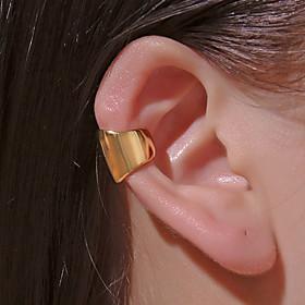 Men's Women's Clip on Earring Ear Cuff Classic Mini Earrings Jewelry Gold / White / Gold For Daily Prom Street Bar Festival