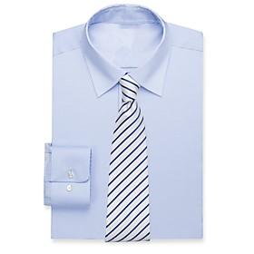 Smoke blue cotton shirt