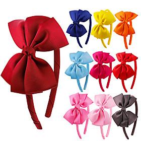 Ladies Ladies Basic Cute Fabric Ceremony School - Solid Colored