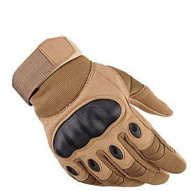 Men's Basic Fingertips Gloves - Solid Colored