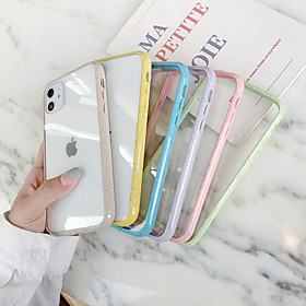 Phone Case For Apple Back Cover iPhone 11 iPhone XR iPhone 11 Pro iPhone 11 Pro Max iPhone XS iPhone XS Max iPhone X iPhone 8 Plus iPhone 8 iPhone 7 Plus Ultra What's in the box:Case1; Type:Back Cover; Material:TPU; Compatibility:Apple; Pattern:Transparent; Features:Transparent,Ultra-thin; Net Weight:0.03; Listing Date:12/11/2019; Production mode:External procurement; Phone/Tablet Compatible Model:iPhone X,iPhone 8 Plus,iPhone SE 2020,iPhone 8,iPhone 11 Pro Max,iPhone 11 Pro,iPhone 11,iPhone XS Max,iPhone XR,iPhone XS,iPhone 7,iPhone 7 Plus