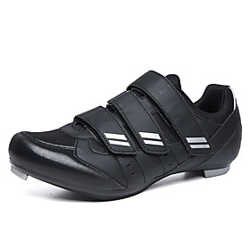 Adults' Bike Shoes Mountain Bike Shoes Breathable Anti-Slip Mountain Bike MTB Road Cycling Cycling / Bike Black / Red Black / White Men's Women's Cycling Shoes