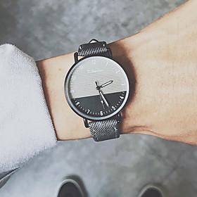 Men's Sport Watch Quartz New Arrival Chronograph Analog Black Blue Khaki / One Year / PU Leather