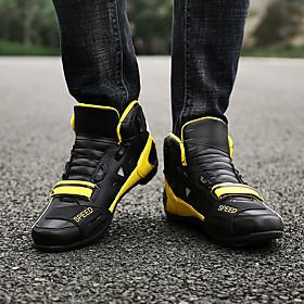 Adults' Bike Shoes Breathable Anti-Slip Mountain Bike MTB Road Cycling Cycling / Bike Black Black / Red Black / Yellow Men's Women's Cycling Shoes